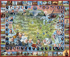 Jigsaw Puzzle - United States Presidents