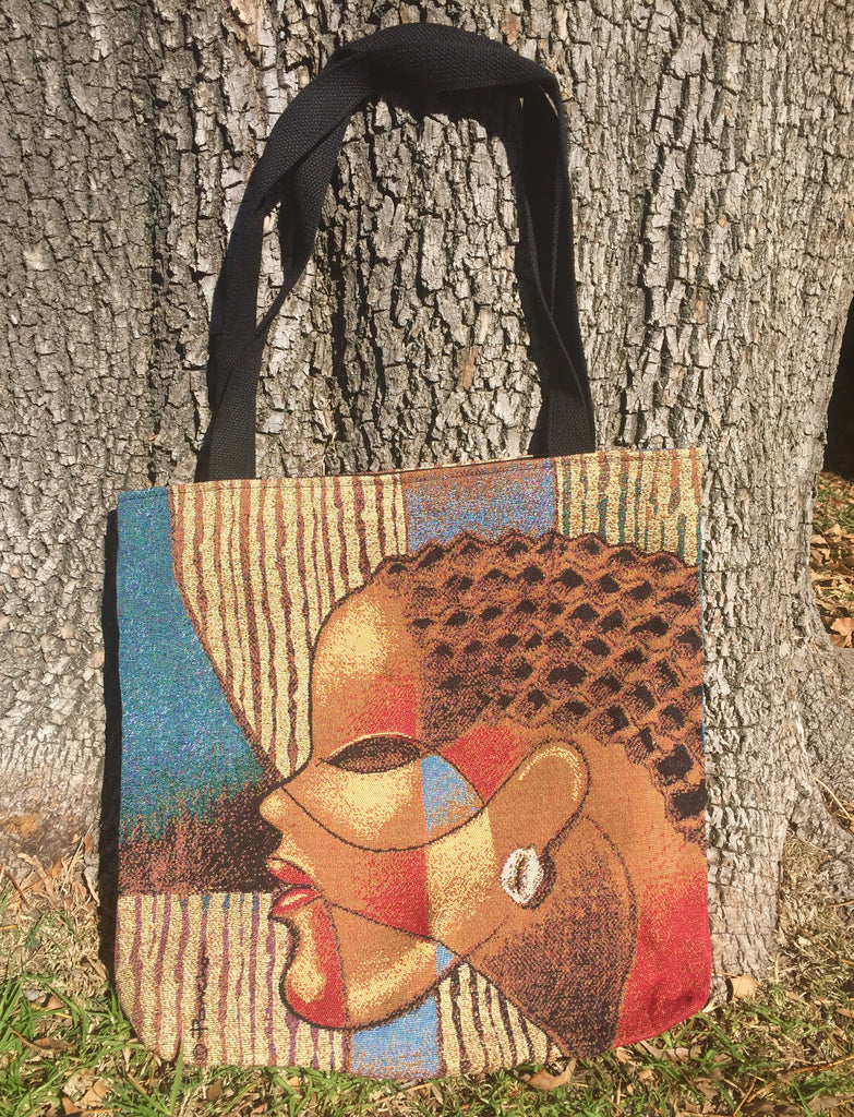 Composite of a Woman - tote bag