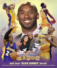 Kobe and Gianna Bryant - 24x20 - print - Wishum Gregory