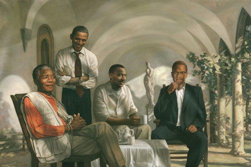The Pioneers - Black History poster