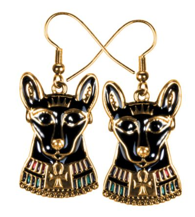 Bastet Earrings