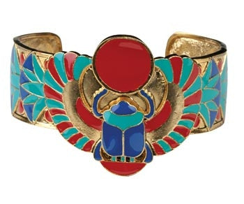 Winged Scarab Bracelet