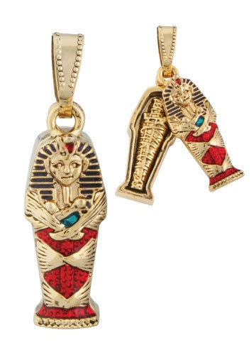 King Tut Coffin Pendant