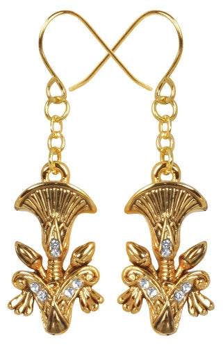 Egyptian Papyrus Earrings