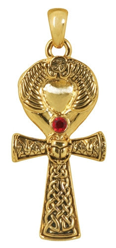 Ankh Pendant with jewel