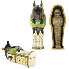 Anubis - coffin with mummy II