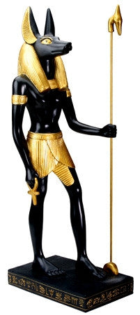 Anubis Egyptian Figurine - large