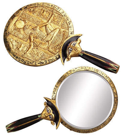 Aegis Ancient Egyptian Mirror