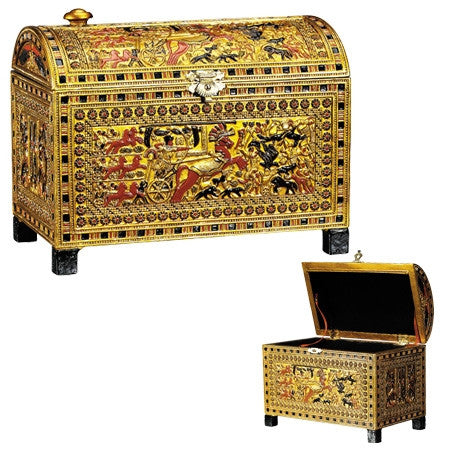 Egyptian Treasure Chest Box