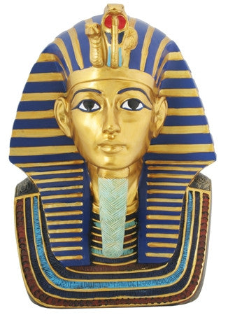 "King Tut - 9"" burial mask"