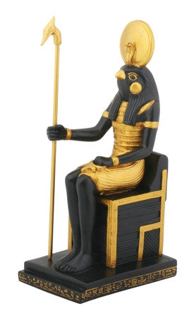 E-Ancient Egyptian - Horus Sitting figurine