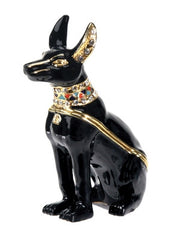 Anubis Egyptian Jeweled Box