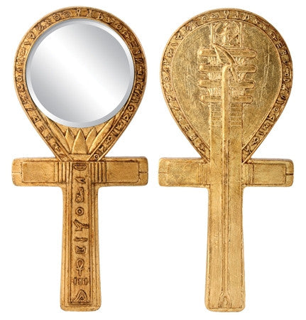 Ancient Egyptian - Djed Ankh Mirror