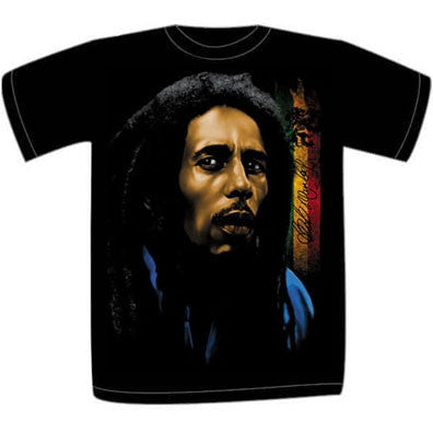 Reflect - Bob Marley - tshirt - black - size small