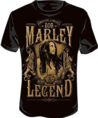 Rebel Legend - Bob Marley tshirt
