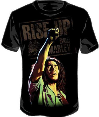 Arm Up - Bob Marley tshirt