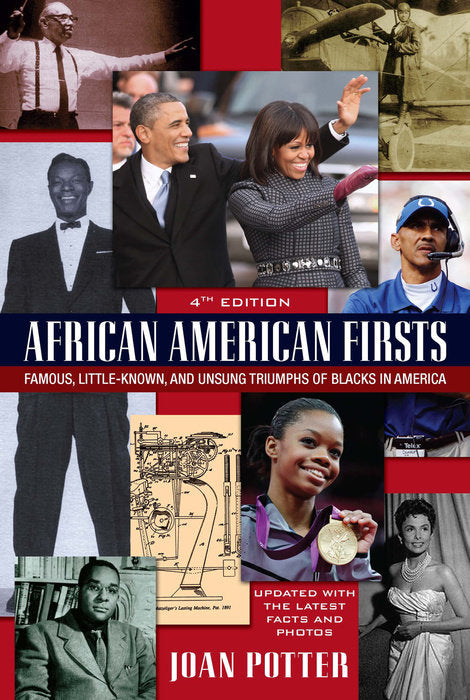 African American Firsts - trade paperback