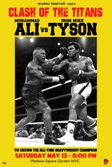 Fantasy Match - Ali vs Tyson - 32x24 poster