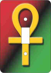 Ankh - single light switch cover