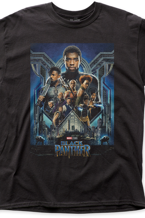 Black Panther Movie Poster - tshirt