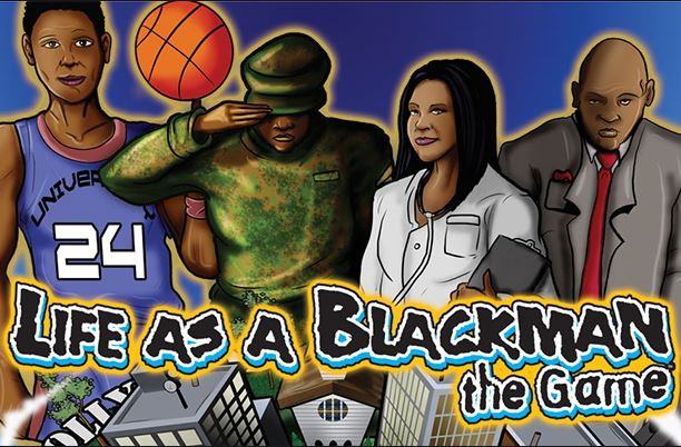 Life As A Blackman boardgame