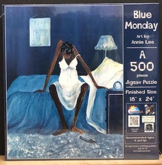 Blue Monday 500 piece - jigsaw puzzle