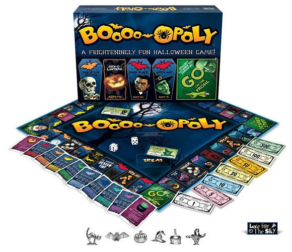 Boo-opoly - boardgame