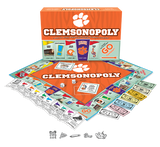 Clemson-opoly - boardgame