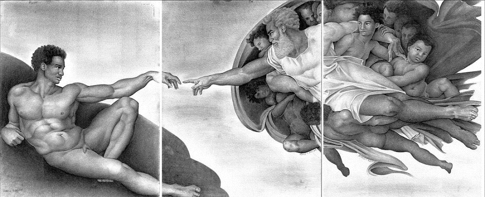 Creation of Adam - 3-print set - Ron Watson