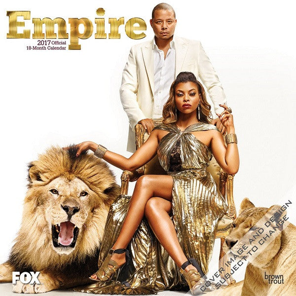 Empire - 2017 wall calendar