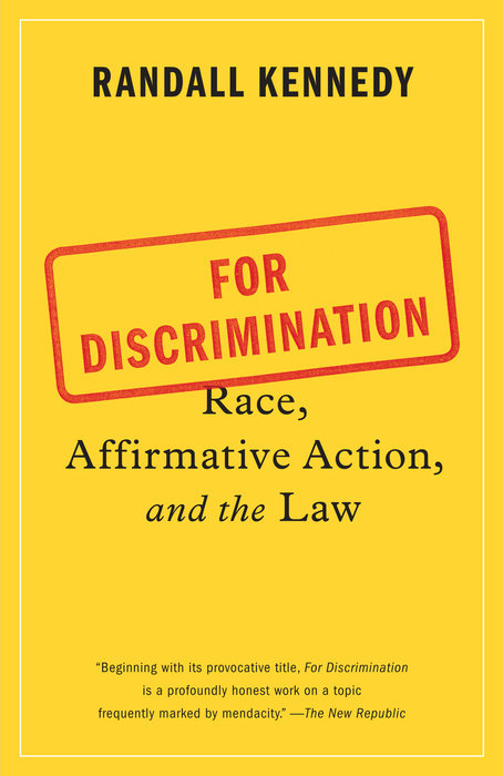 For Discrimination - trade paperback