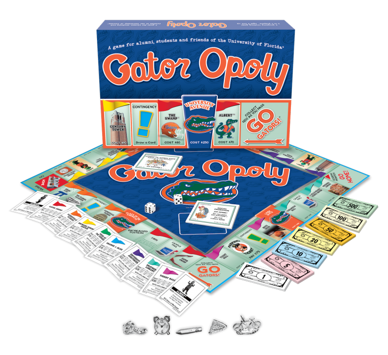 Gator-opoly - boardgame