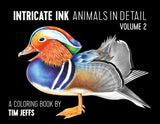 Intricate Ink - Animals In Detail-2 - Coloring Book