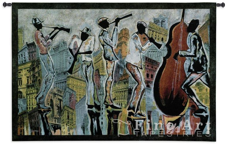 Jazz Reflections - tapestry