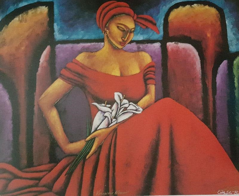 Veracious Woman - 22x29 - limited edition - LaShun Beal