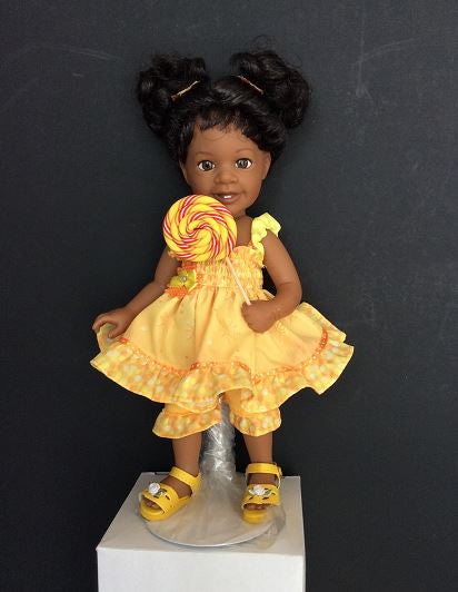 Sunshine and Lollipops - African American doll