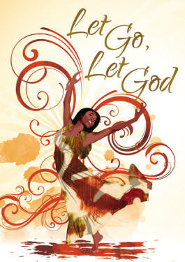 Let Go Let God - magnet