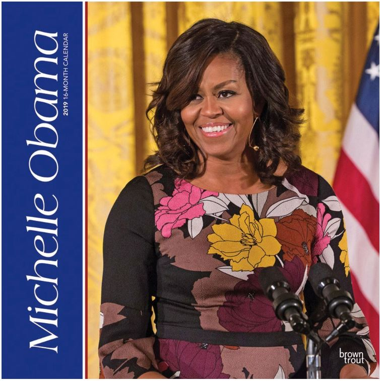 First Lady Michelle Obama - 2019 wall calendar