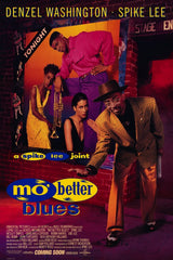 Mo Better Blues - 27x40 movie poster