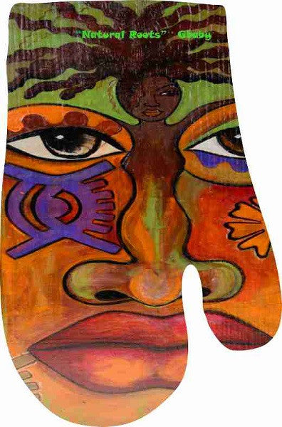 Oven Mitt - by Gbaby - Natural Roots