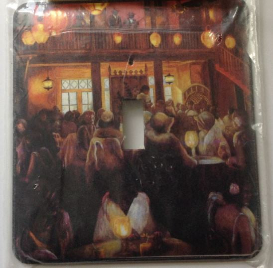 Light Switchcover - Night Life - large single