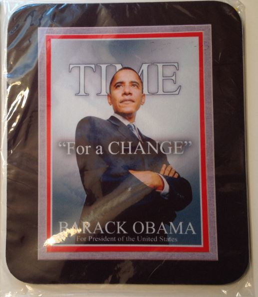 Mousepad - Obama - Time For A Change