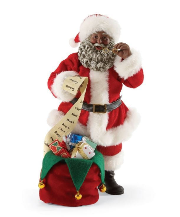 It s a black thang african american santa claus