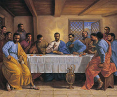 Black Last Supper - 36x24 - print - Sarah Jenkins