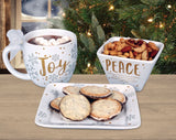 Season of Joy Christmas plate - Joy