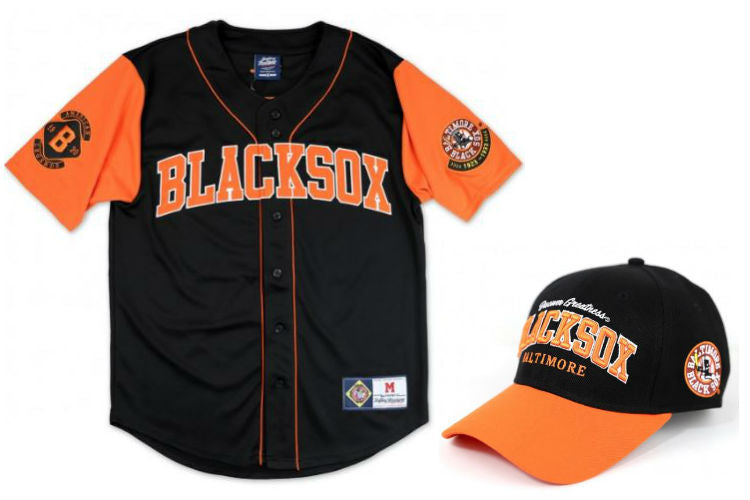 Baltimore Black Sox - legacy jersey - cap