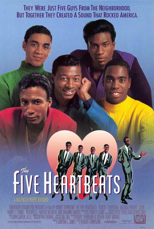 The Five Heartbeats - 27x40 movie poster