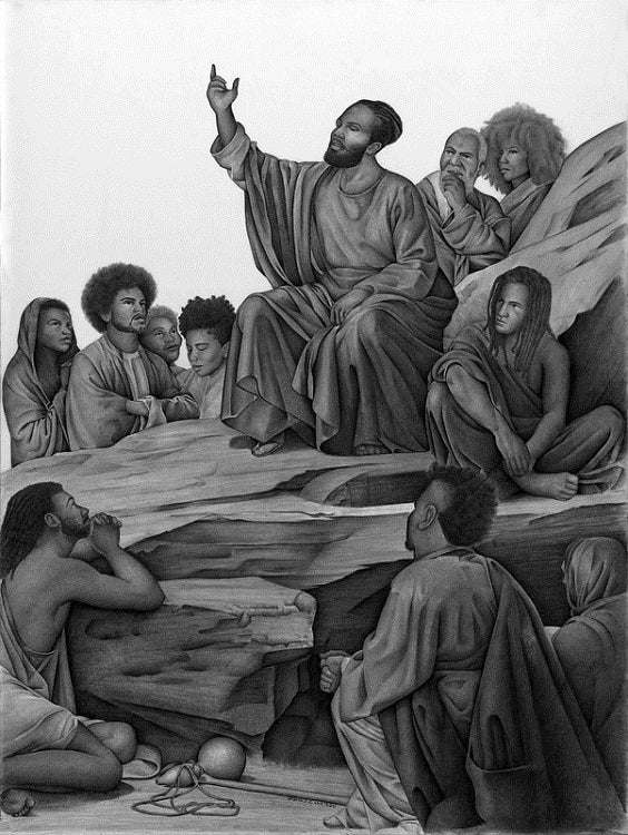 The Sermon - 11x14 - print - Ron Watson