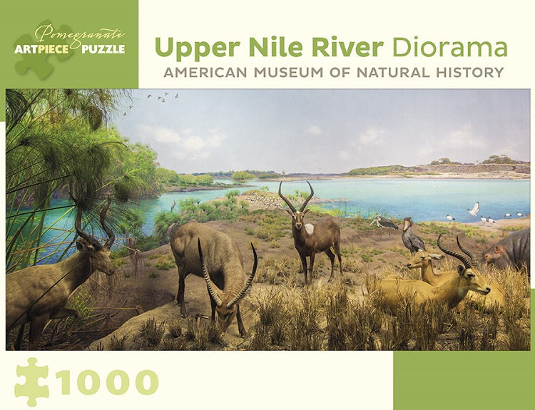 Upper Nile River Diorama - jigsaw puzzle - 1000 piece