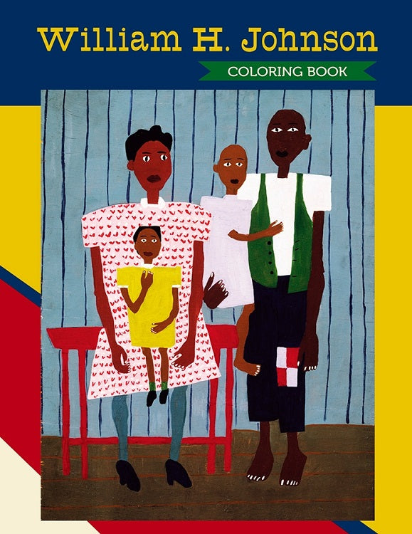 William H. Johnson - Coloring Book